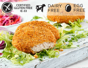 Rosie & Jim Turkey Fillet Burger with Quinoa and Herb Crust 7 Pack