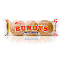 Load image into Gallery viewer, Johnston Mooney & O'Brien Seeded Burger Bundys 6 pack