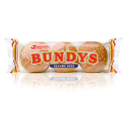 Johnston Mooney & O'Brien Seeded Burger Bundys 6 pack