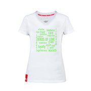 T-SHIRT «PHILOSOPHY» DAMEN KURZARM