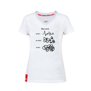 T-SHIRT «THOUGHTS» DAMEN KURZARM