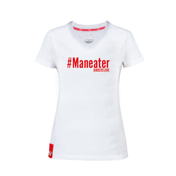 T-SHIRT «MANEATER» DAMEN KURZARM
