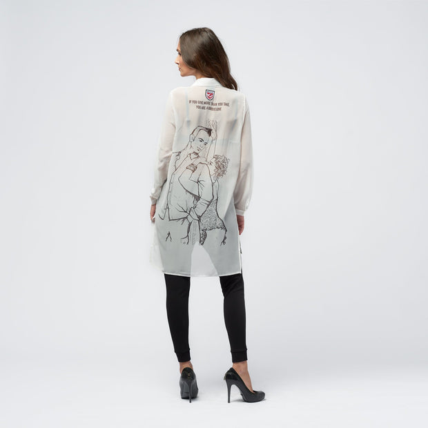 "BLOUSE ""YOU ARE MY BIRD"" DAMEN blouse Birds of love"