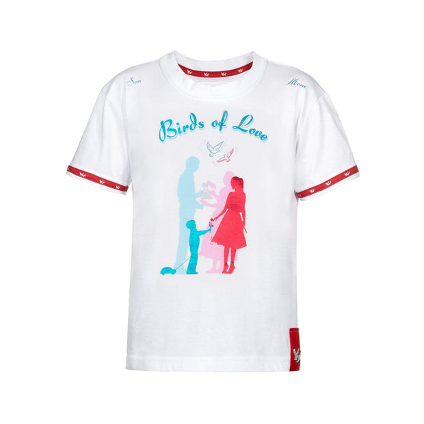 "T-SHIRT ""SON & MOM"" JUNGEN t-shirt Birds of Love Fashion"