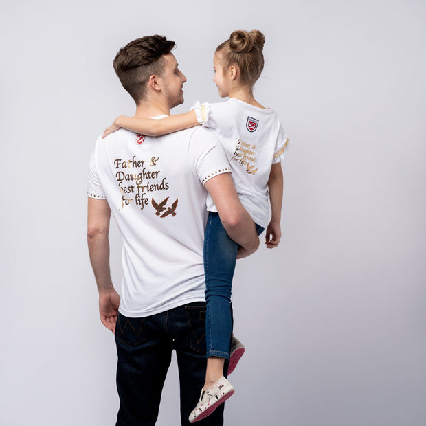 "T-SHIRT ""WALKERS"" MÄDCHEN t-shirt Birds of Love Fashion"