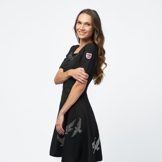 "KLEID ""GLAMOUR BIRDS"" DAMEN dress Birds of love"