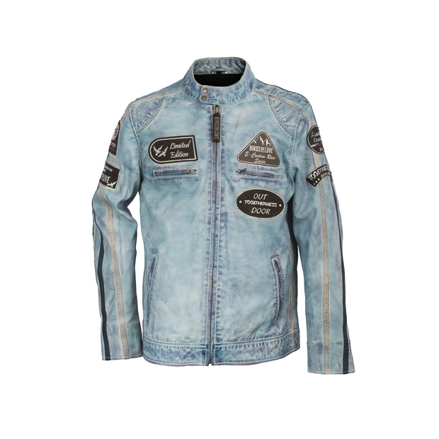 "Lederjacke ""Freaky Birds Nation"""