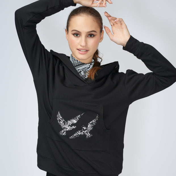 "Sweat Kostüm ""Black Swan"" für Damen"