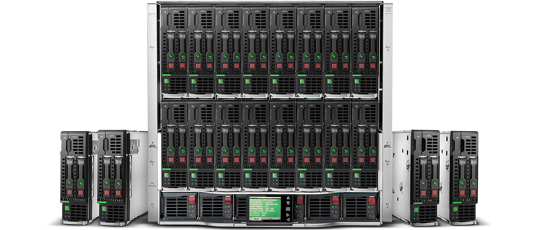 CTO Refurbished HPE & Dell Blade Servers