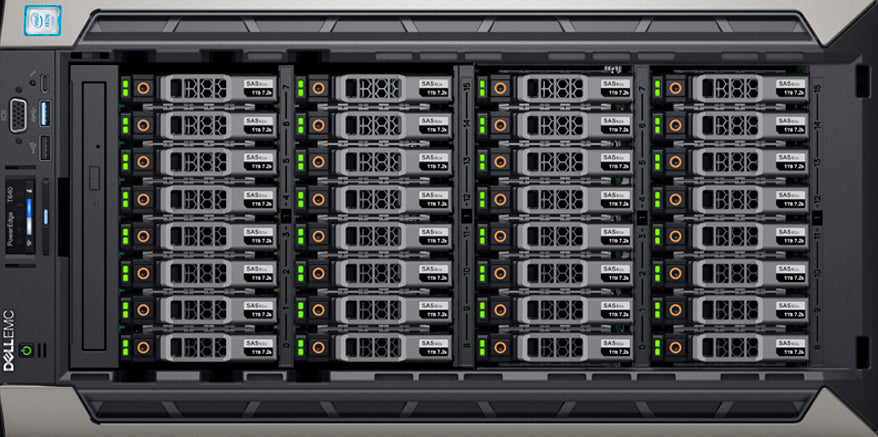 T640 rack view
