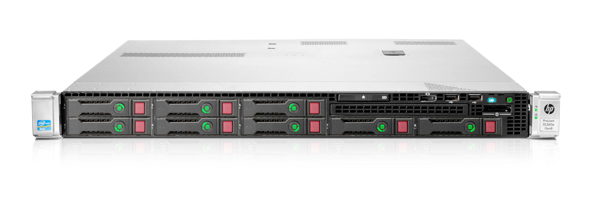 661189-B21 - HPE ProLiant DL360e Gen8 8SFF Server Chassis