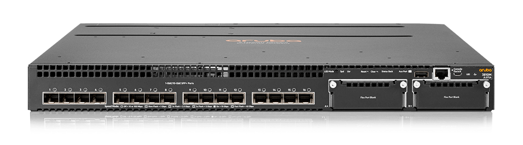 HPE JL075A Aruba 3810M 16SFP+ 2-slot Switch