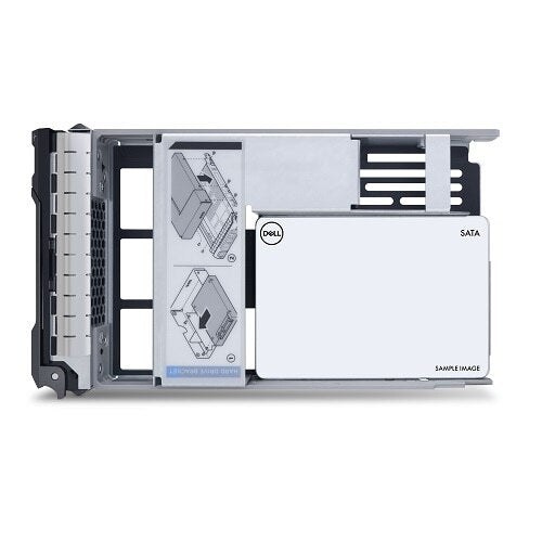"0KT5H - Dell 960GB SSD SATA MU 6Gbps 512e 2.5"" in 3.5"" HYB CAR"