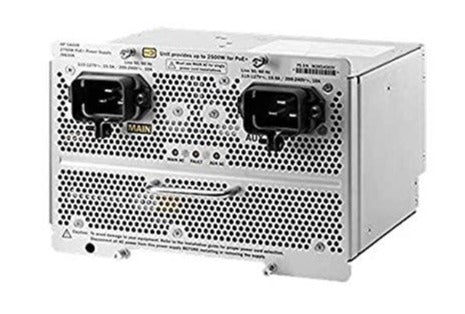 HPE J9830B Aruba 5400R 2750 W PoE+ zl2 power supply