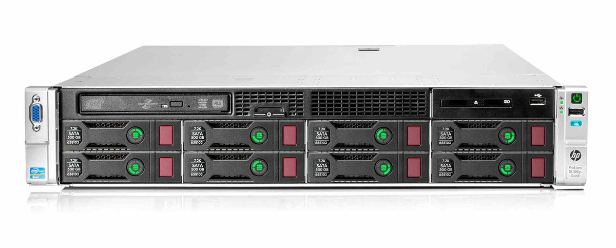 665553-B21 - HPE ProLiant DL380p Gen8 8LFF Server Chassis