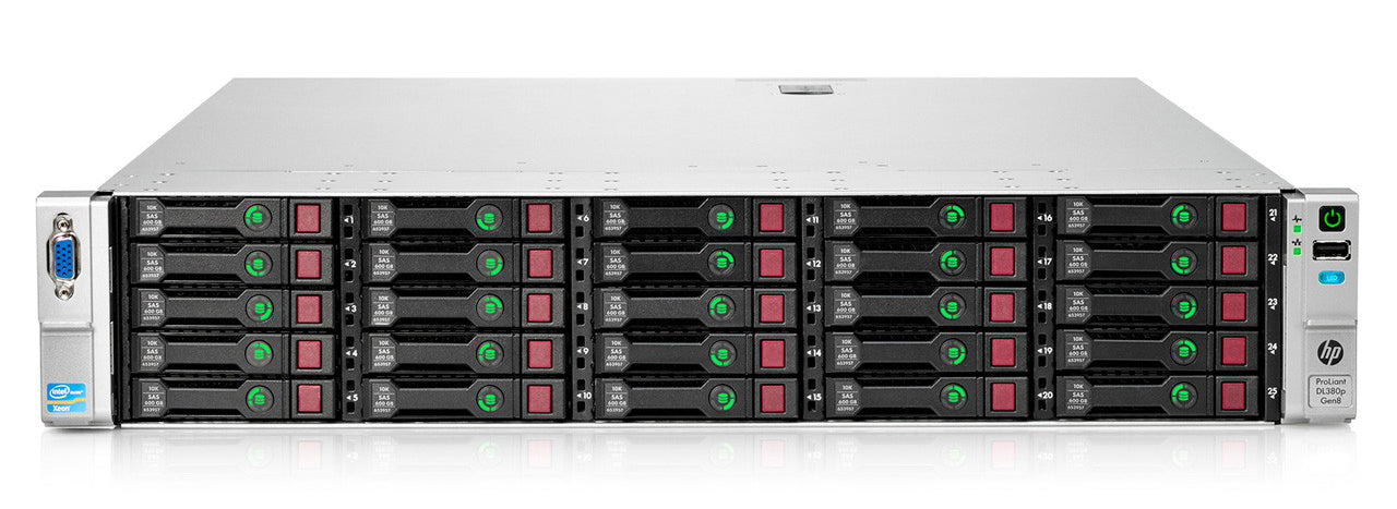 665554-B21 - HPE ProLiant DL380p Gen8 25SFF Server Chassis