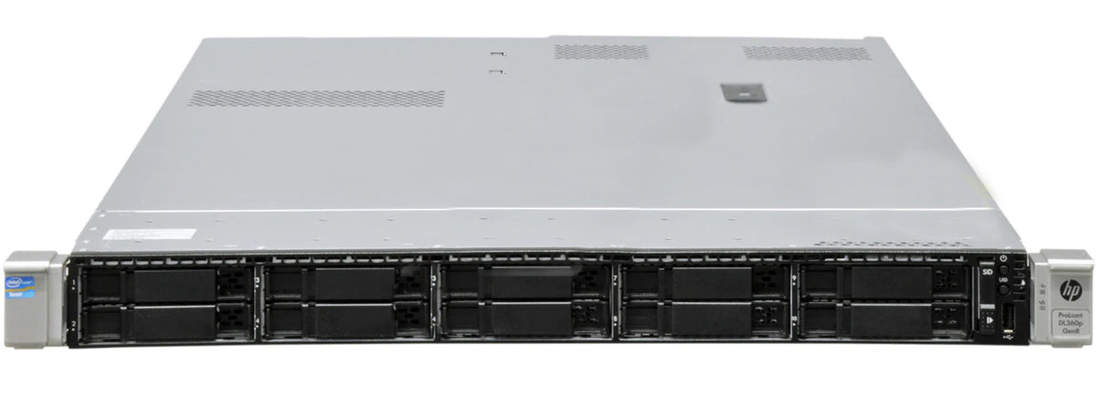 666532-B21 - HPE ProLiant DL360P Gen8 10SFF Server Chassis