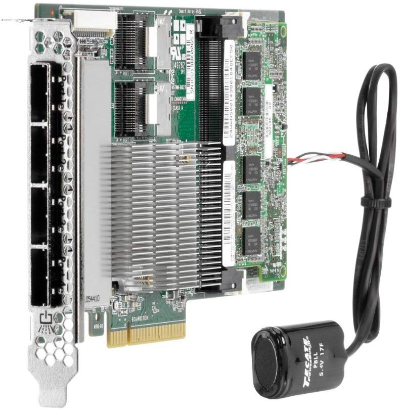 615418-B21 - HPE Smart Array P822/2GB FBWC 6Gb 2-ports-Int/4-ports Ext SAS Controller