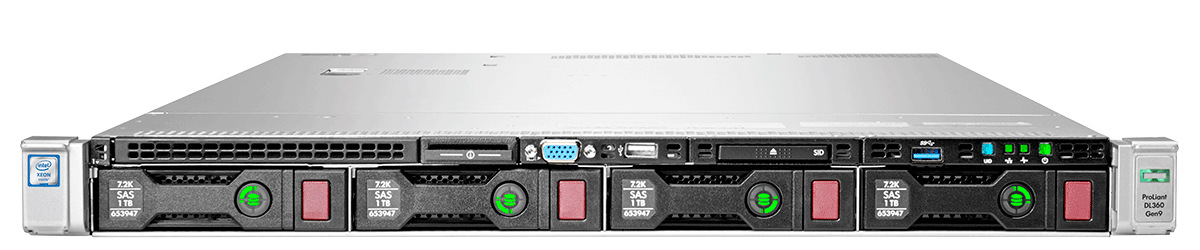 755259-B21 - HPE ProLiant DL360 Gen9 4LFF Server Chassis