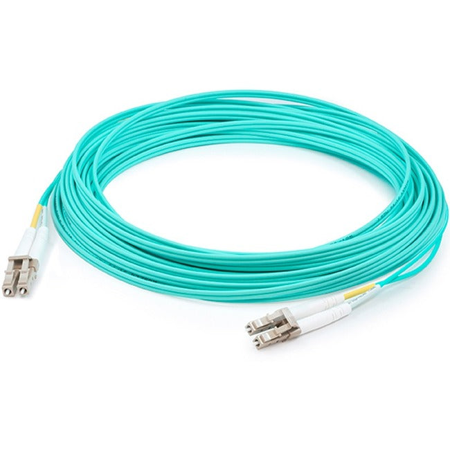 HPE AJ836A LC to LC Multi-Mode OM3 2-Fiber 5 m 1-Pack fiber optic cable