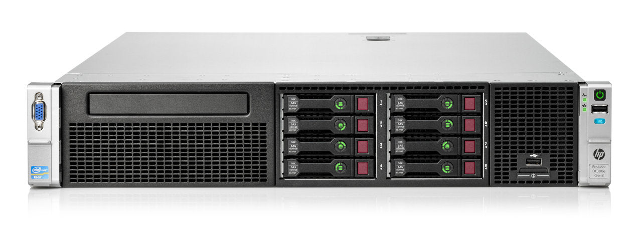669253-B21 - HPE ProLiant DL380e Gen8 8SFF Server Chassis