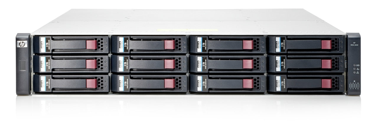 C8R13A - HPE MSA 2040 LFF DC-power Chassis