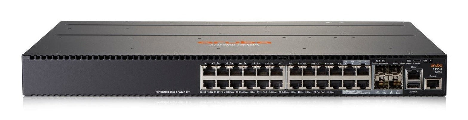 HPE JL319A Aruba 2930M 24G 1-slot Switch