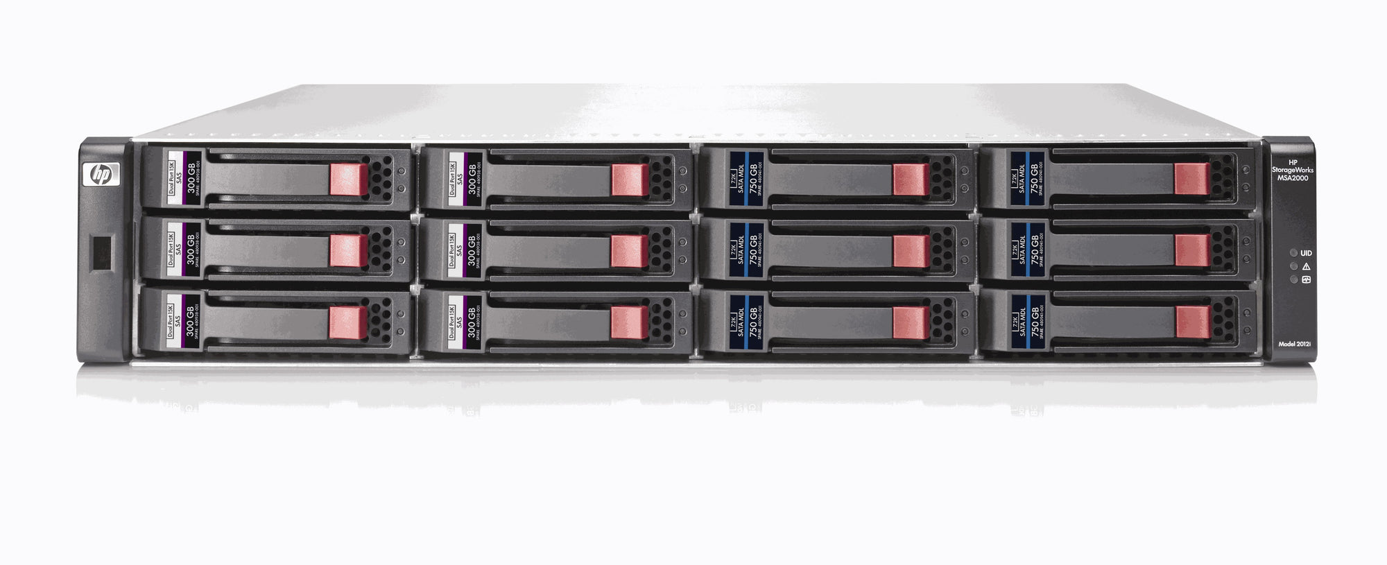 AJ948A - HPE 2012 3.5-inch Drive Bay Chassis