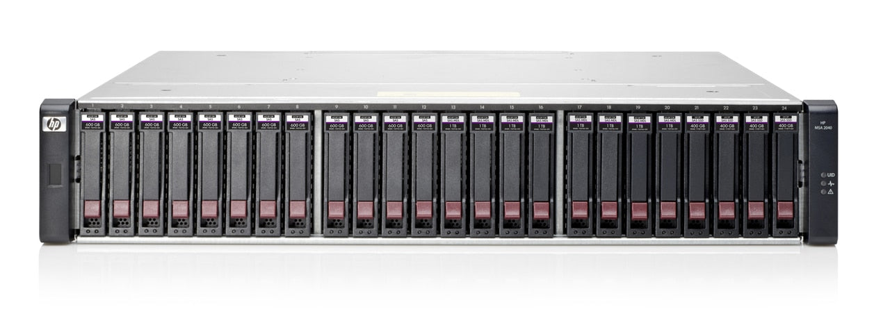 C8R11A - HPE MSA 2040 SFF DC-power Chassis