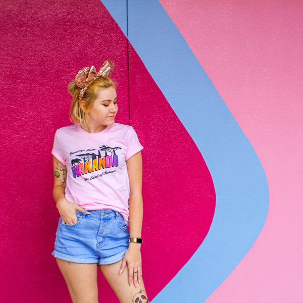 Land of Sunsets T-Shirt Pink