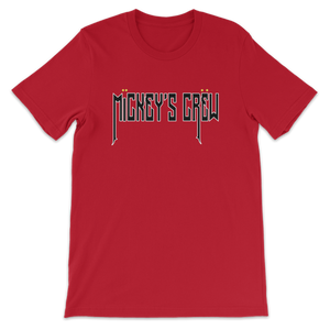 Mickey's Crew T-Shirt Red