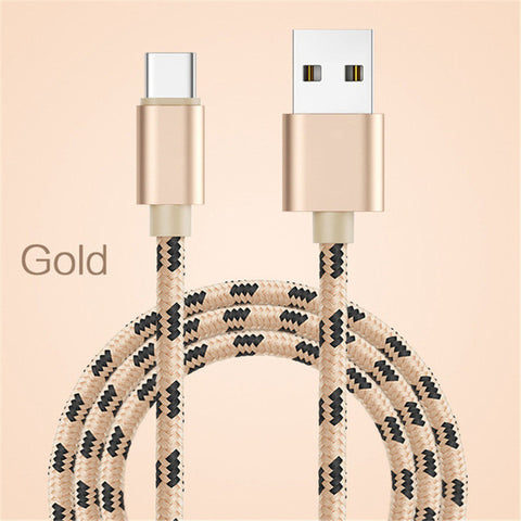 Type C Fast Charging Micro USB Cable For Samsung Galaxy Note 9 Type-C Reversible Connector Data Phone Charger Adaptor For iPhone