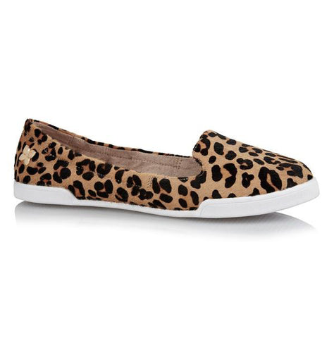 Butterfly Twists Leopard Print Loafer