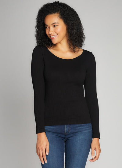C'est-Moi-ribbed-modal-crew-neck-top-black.