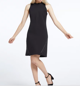 nic-&-Zoe-sleeveless-black-grommet-petite-dress