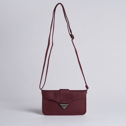 Pixie Mood Jacqueline Pouch Red Wine