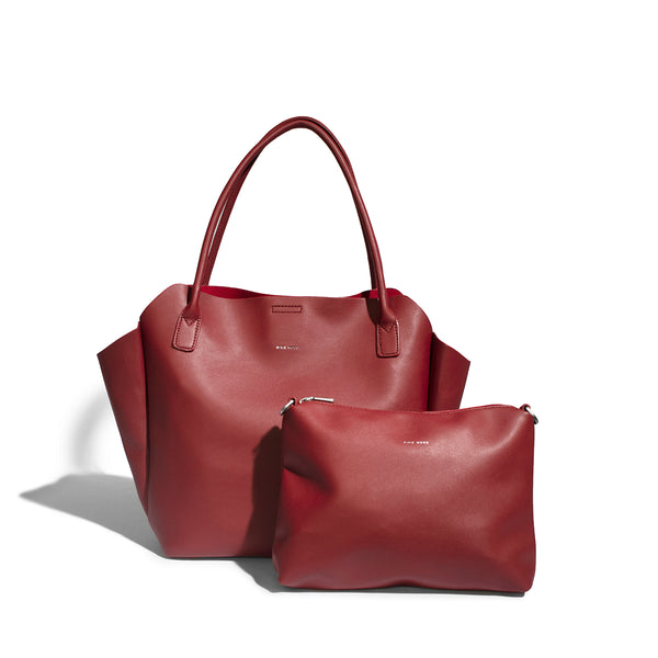 Pixie-Mood-Rachel-Small-Tote-Red-bag-in-bag