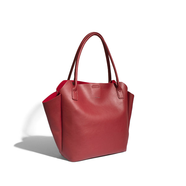 Pixie-Mood-Rachel-Small-Tote-Red-side