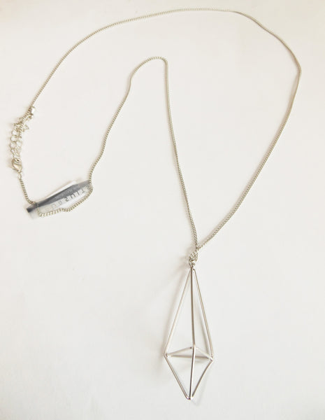 Pursuits-Silver-Prism-long-necklace