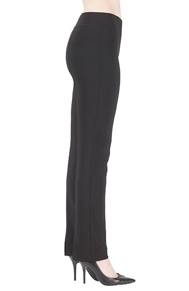 Joseph-Ribkoff-slim-black-basic-petite-pant-side-view.