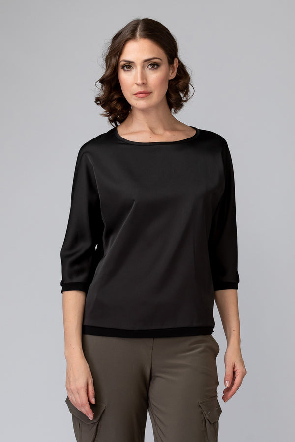 Joseph Ribkoff Satin Top