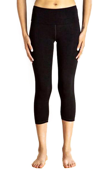 Miik Cropped Black Legging