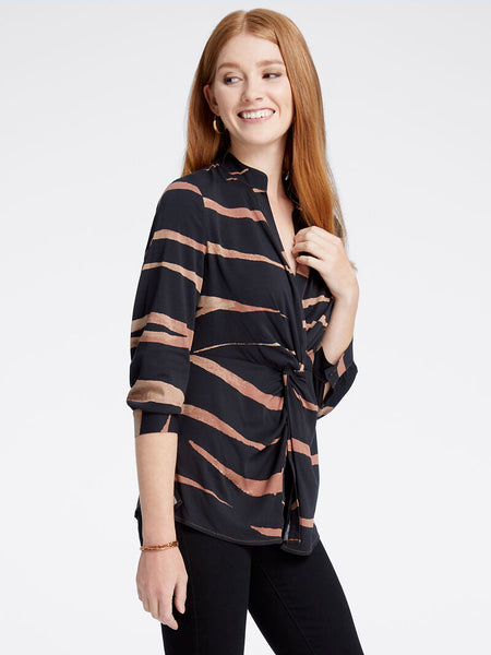 Nic-&-Zoe-animal-print-twist-petite-blouse-side