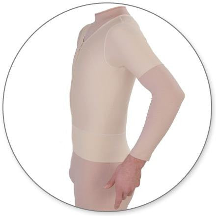 Style 11S - Contour Male Compression Vest with Sleeves