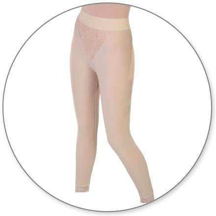 Style 15 - Slip On Ankle Girdle Closed Crotch by Contour