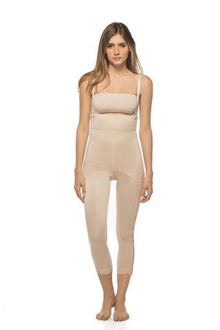 Ankle Length Girdle with Two Lateral (Side) Zippers - Annette Renolife - Style 17394
