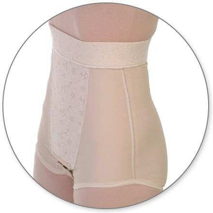 Style 22 Abdominal Panty Girdle 4in Waist Closed Crotch