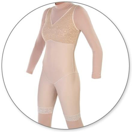 Style 27NZ - Mid Thigh Body Shaper w/o  Zippers by Contour