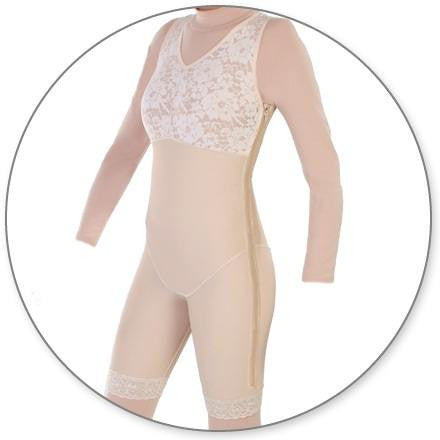 Style 27FLZ - Mid Thigh Shaper Full Side Zip by Contour