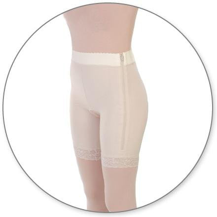 Style 3HT - Mid Thigh Girdle 2in Waist w/Hi Thigh by Contour